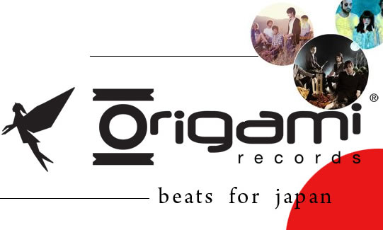 Origami Beats for Japan